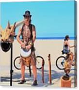 Didgeridoo Canvas Print