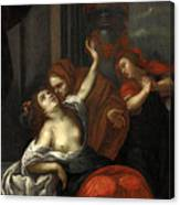 Dido Wounded Canvas Print