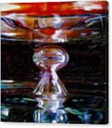 Die Glasdecke Wurde Gebrochen Canvas Print