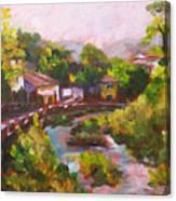 Dieulefit In Summer Canvas Print