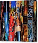 Digeridoos Canvas Print