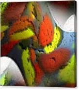Digital Abstract World Canvas Print