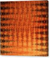 Digital Copper Plate Abstract Canvas Print