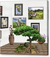 Digital Exhibition _ Bonsai 22 Canvas Print