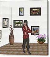 Digital Exhibition 21 Canvas Print