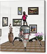Digital Exhibition 421 Canvas Print