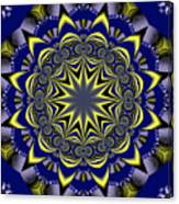 Digital Fractal Poster Canvas Print