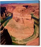Digital Paint Horseshoe Bend  Canvas Print