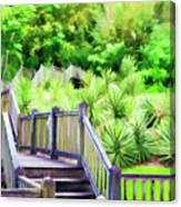 Digital Paint Landscape Jefferson Island  Canvas Print