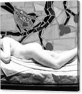 Digital Photography - The Bird Woman Canvas Print