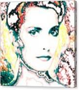 Digital Self Portrait Canvas Print
