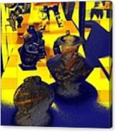 Digital Still Life Canvas Print