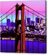 Digital Sunset - Ggb Canvas Print