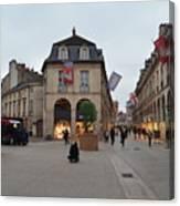 Dijon Street Corner Canvas Print