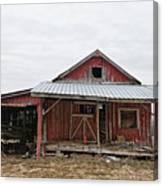 Dilapidated Old Barn Canvas Print