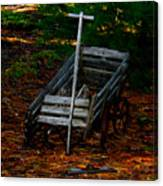 Dilapidated Wagon Canvas Print