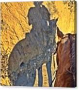 Dillie Selfie Canvas Print