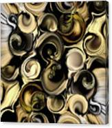 Dimension Vs Shape Canvas Print