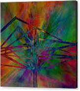 Dimensional Antenna Canvas Print