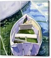 Dinghy Canvas Print