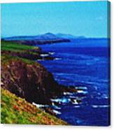 Dingle Coastline Near Fahan Ireland Canvas Print