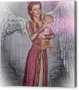 Diniel - Angel Who Protects Infants Canvas Print