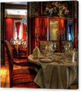 Dining At Muriel's Canvas Print