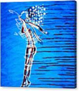 Dinka Dame - South Sudan Canvas Print