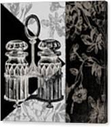 Dinner Conversation Iv Canvas Print