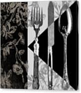 Dinner Conversation Canvas Print