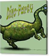 Dino Party Canvas Print