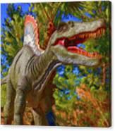 Dinosaur 12 Canvas Print