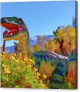 Dinosaur 7 Canvas Print