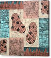 Dinosaur Ridge Canvas Print