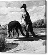 Dinosaurs: Trachodon Canvas Print