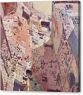 Diocletian Courtyard Canvas Print