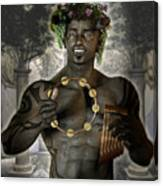 Dionysus God Of Grape Canvas Print