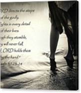 Directed Steps Canvas Print