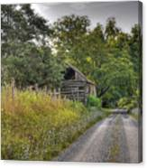 Dirt Roads Canvas Print
