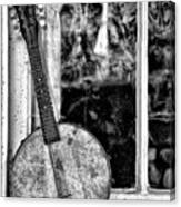 Dirty Banjo Mandolin Canvas Print