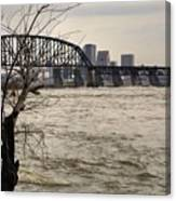 Dirty Water View Canvas Print