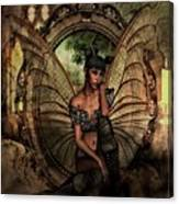 Disappointed Fairy Canvas Print