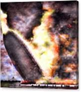 Disaster Strikes Canvas Print