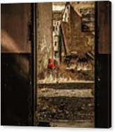 Discarded Doll Canvas Print
