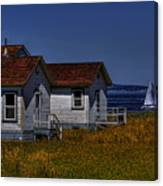 Discovery Park Homes Canvas Print