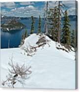 Discovery Point Panorama Canvas Print