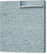 Discussion Of The Grey Wall Canvas Print