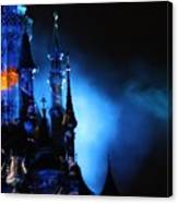 Disney Blues At Night  Canvas Print