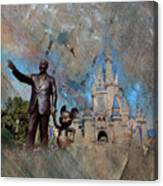 Disney World Canvas Print