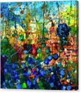 Dissolution And Rebirth Canvas Print
